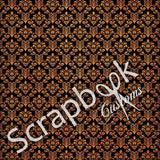 "HALLOWEEN 12""X12"" Scrapbook Customs Paper"