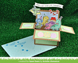 Lawn Cuts SIMPLE WAVY BANNERS Custom Craft Dies 3 pc. Scrapbooksrus