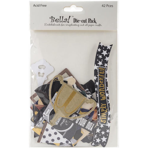 Bella GRADUATION Cardstock Die Cuts Pack 42pc - Scrapbook Kyandyland