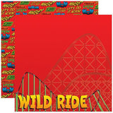 Reminisce State Line Wild Ride Paper Sheet Scrapbooksrus