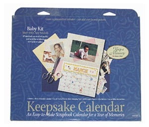 Keep A Memory BABY KIT Keepsake Calendar Scrapbooksrus