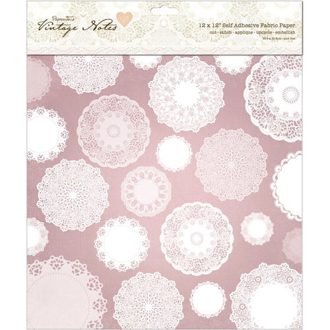 "Docrafts Papermania VINTAGE NOTES Cards/Envelopes 6""X6"" - Scrapbook Kyandyland"