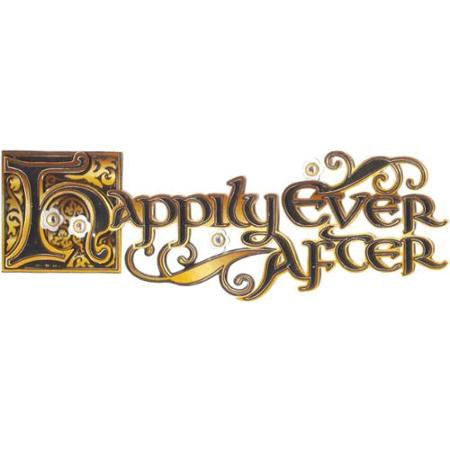 Ek Success HAPPILY EVER AFTER Jolee's 3D Sticker 3pc - Scrapbook Kyandyland