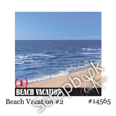 Stamping Station Beach Vacation @ScrapbooksRUs