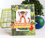 "Echo Park 12""x12"" JUNGLE SAFARI 14pc COLLECTION KIT Scrapbooksrus"