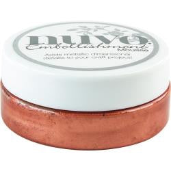 Nuvo Embellishment Mousse PERSIAN RED 2.2oz Scrapbooksrus