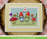 "Lawn Fawn OH GNOME! Clear Stamps 4""X6"""