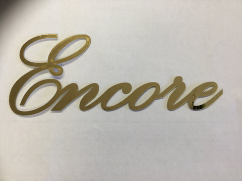 "ENCORE METALLIC Laser Cuts 3""X7"""