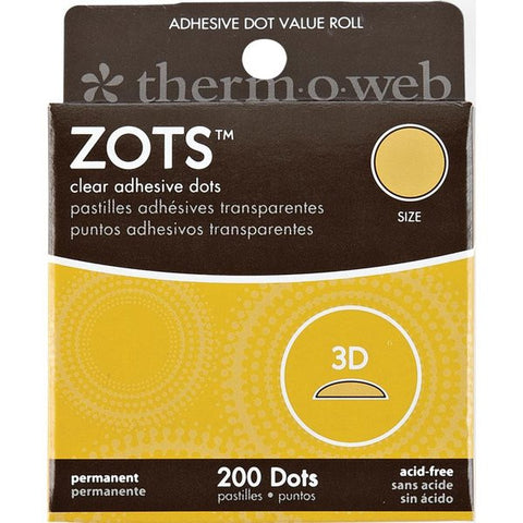 Thermo Web ZOTS SMALL Clear Adhesive Dots 300pc