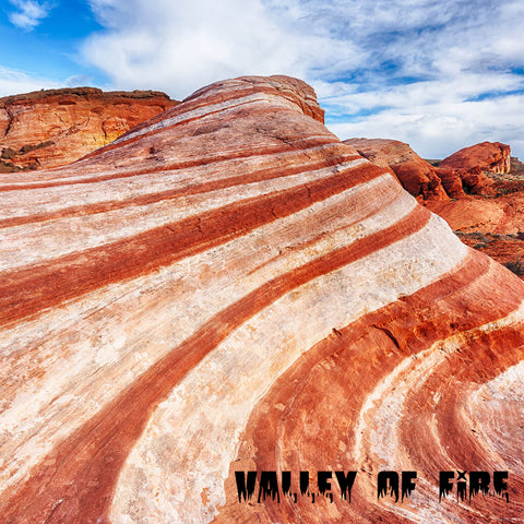 "VALLEY OF FIRE Swirl Cardstock 12""x12"" Paper"