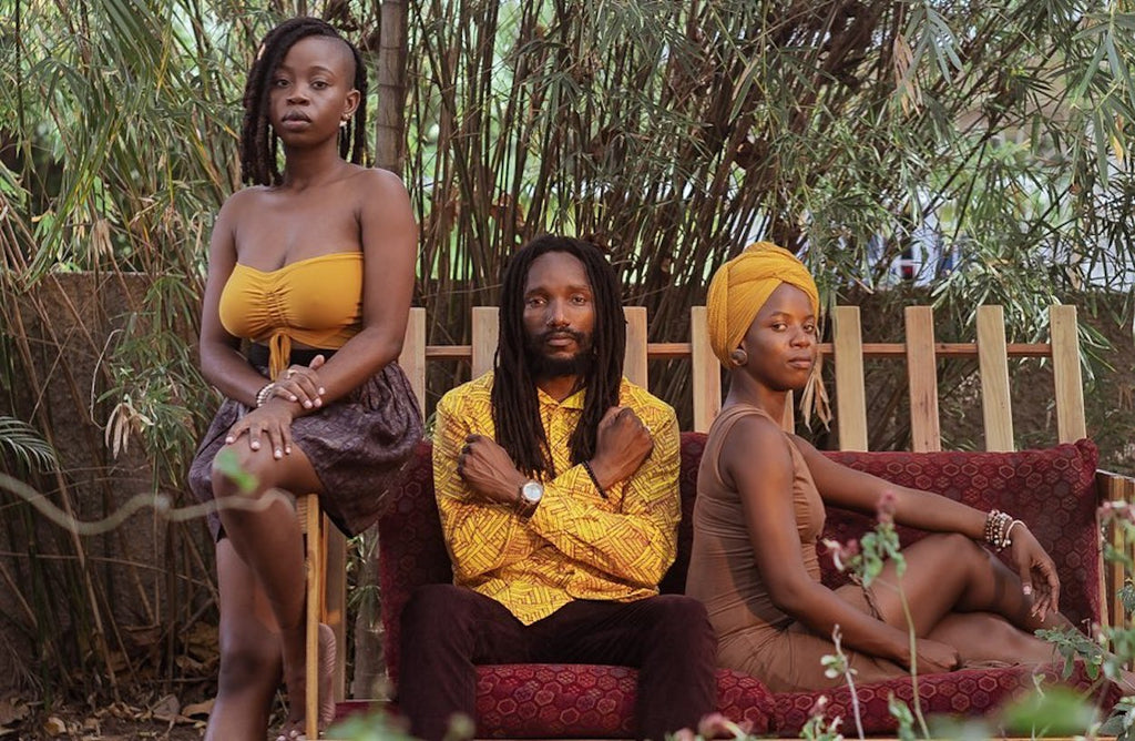 "Kabaka Pyramid Rocking PEACE FITS in NEW Video "" Natural Woman"""