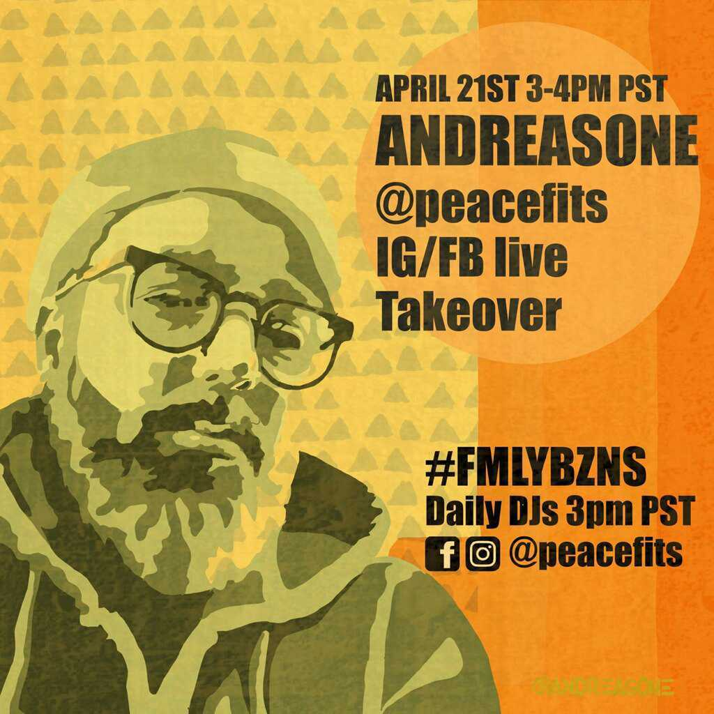 #FMLYBZNS IG/FB LIVE TAKEOVER  DJS EVERYDAY AT 3 PM PST!