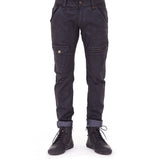 3SMOOVE Waxed Denim Pants (front view) PEACEfits