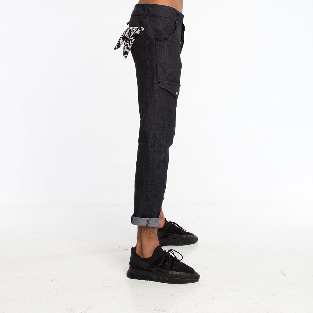Men's Bottoms - 3SMOOVE JEAN - Dark Denim - PEACEfits