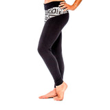 BRAZILIAN LEGGING BIG FUNK Black/White (side view) PEACEfits