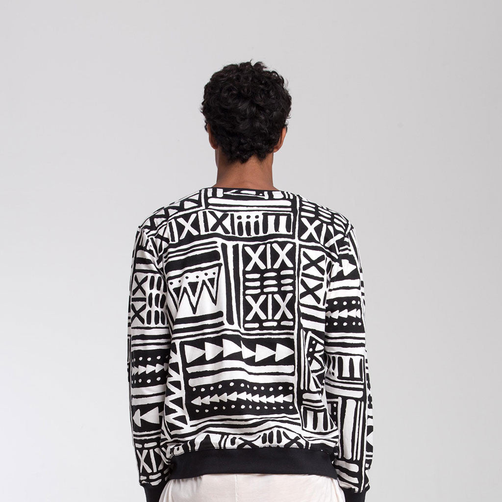 CREW NECK SWEATSHIRT [X-TRiBE] - PEACE FITS