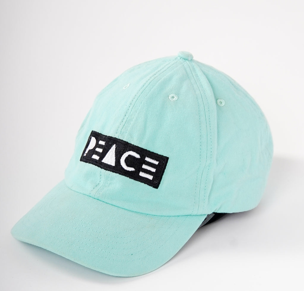 DAD HAT [PEACE Logo] - PEACE FITS