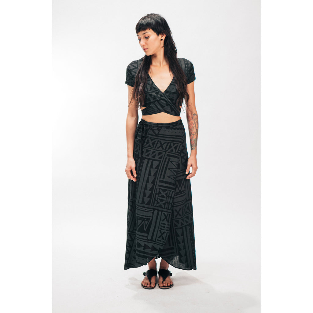 WRAP SKIRT [X-TRiBE]