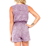 HEY SHORTIE OnePEACE Natural Myst Lavender/Purple (back view) PEACEfits