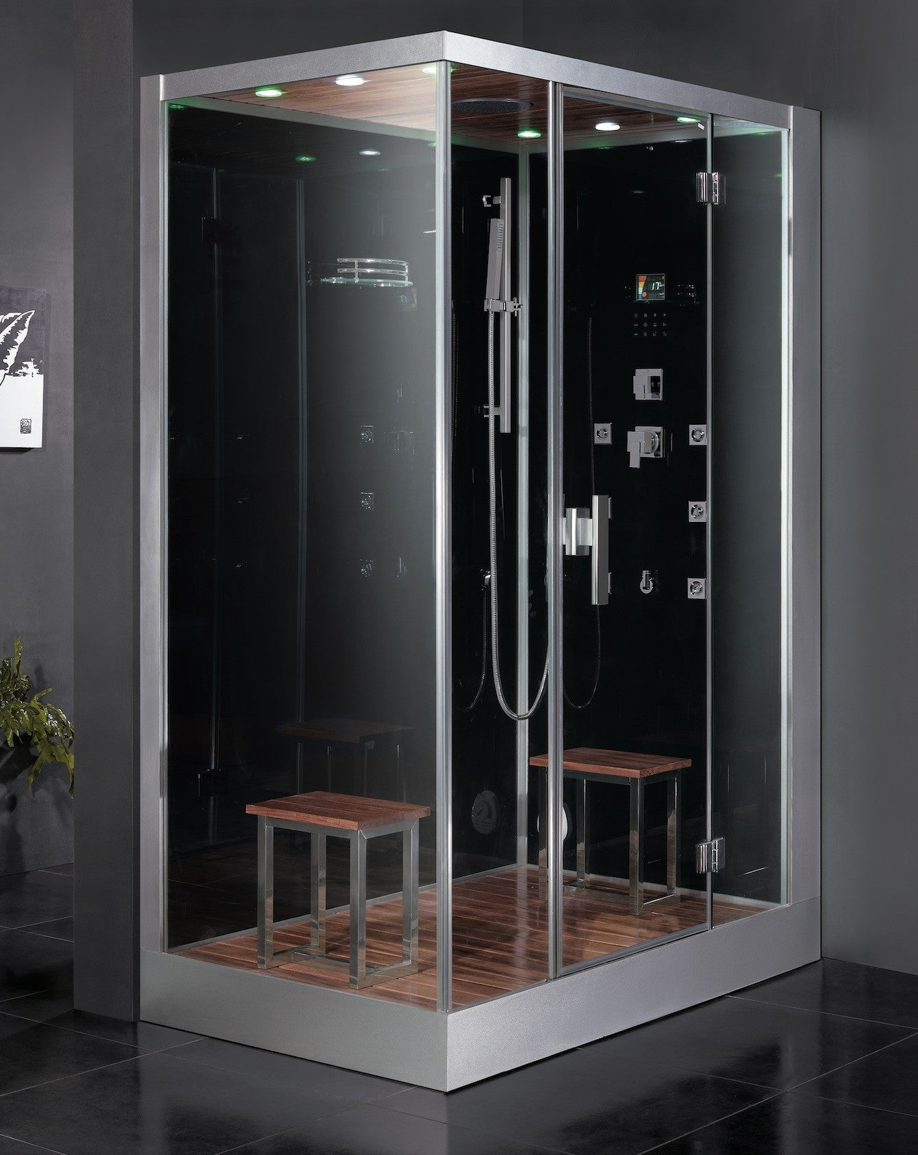 Dz961 f8 atlantic bath steam shower for Build steam shower