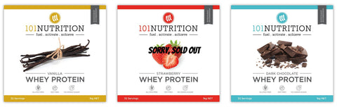 101 Nutrition Whey Protein 1 KILO ECO-BAG