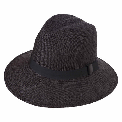 Classic Folding Fedora Black - San Francisco Hat Co Au - 1