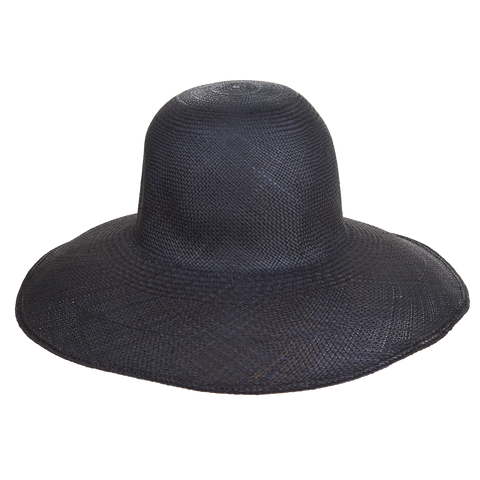 Classic Panama Sunhat Navy - San Francisco Hat Co Au