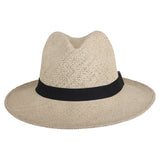 Classic Folding Fedora Natural - San Francisco Hat Co Au - 2