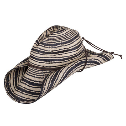 Striped Rustic Black - San Francisco Hat Co Au - 1