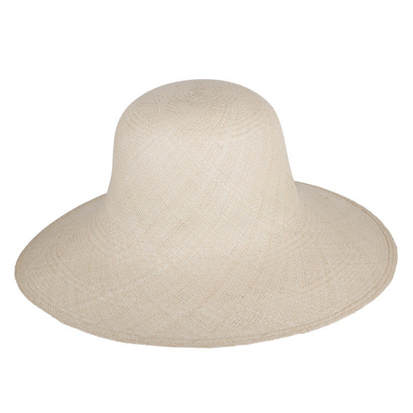 Classic Panama Sunhat Natural - San Francisco Hat Co Au - 1