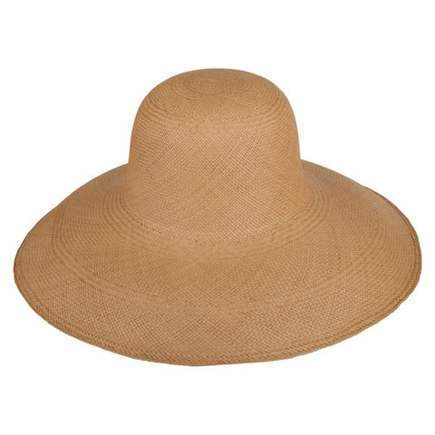 Classic Panama Sunhat Putty - San Francisco Hat Co Au - 1