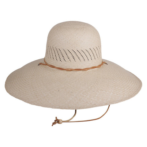 Wide Brim Panama Natural - San Francisco Hat Co Au