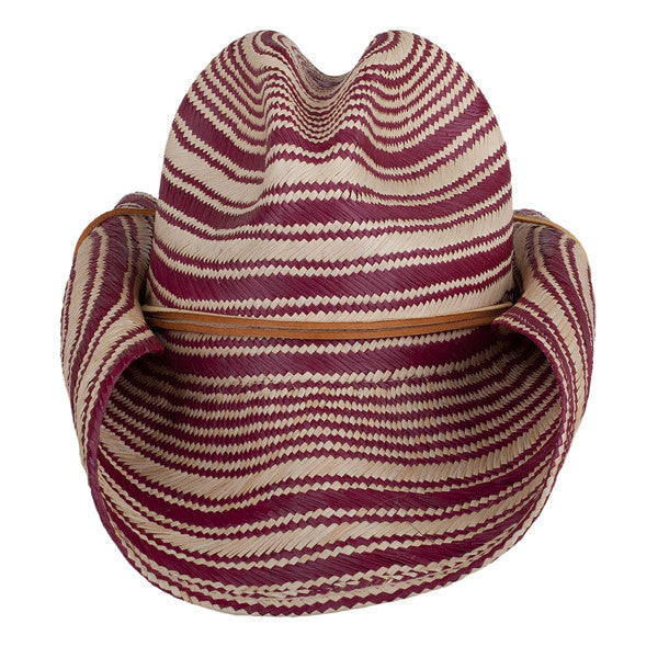 Striped Rustic Red - San Francisco Hat Co Au - 2