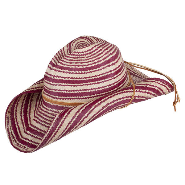 Striped Rustic Red - San Francisco Hat Co Au - 1