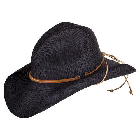 South West Rustic Black - San Francisco Hat Co Au - 1