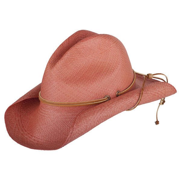 South West Rustic Coral - San Francisco Hat Co Au - 1