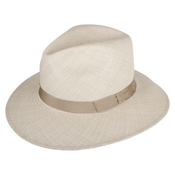 Town Fedora Natural/Creme - San Francisco Hat Co Au - 1