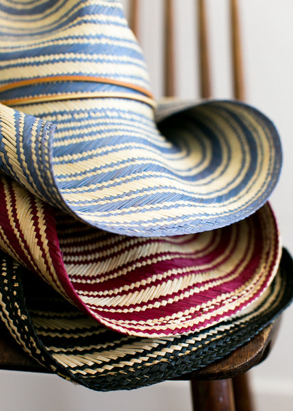 Striped Rustic Blue - San Francisco Hat Co Au - 3
