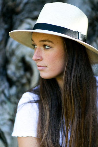 Classic Folding Fedora Natural - San Francisco Hat Co Au - 3