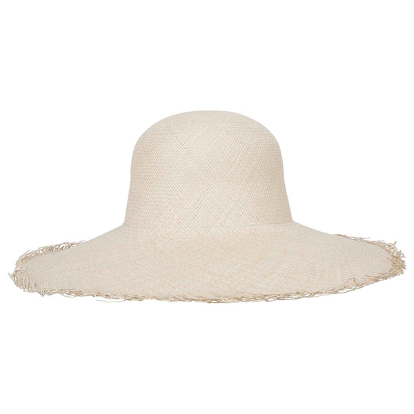 Classic Panama Sunhat Fringed - San Francisco Hat Co Au - 2