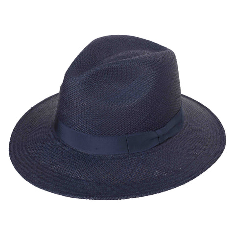 Leslie Fedora Navy/Navy - San Francisco Hat Co Au - 1