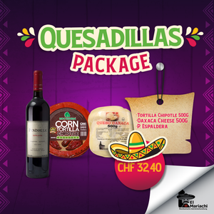 Quesadillas Package Chipotle