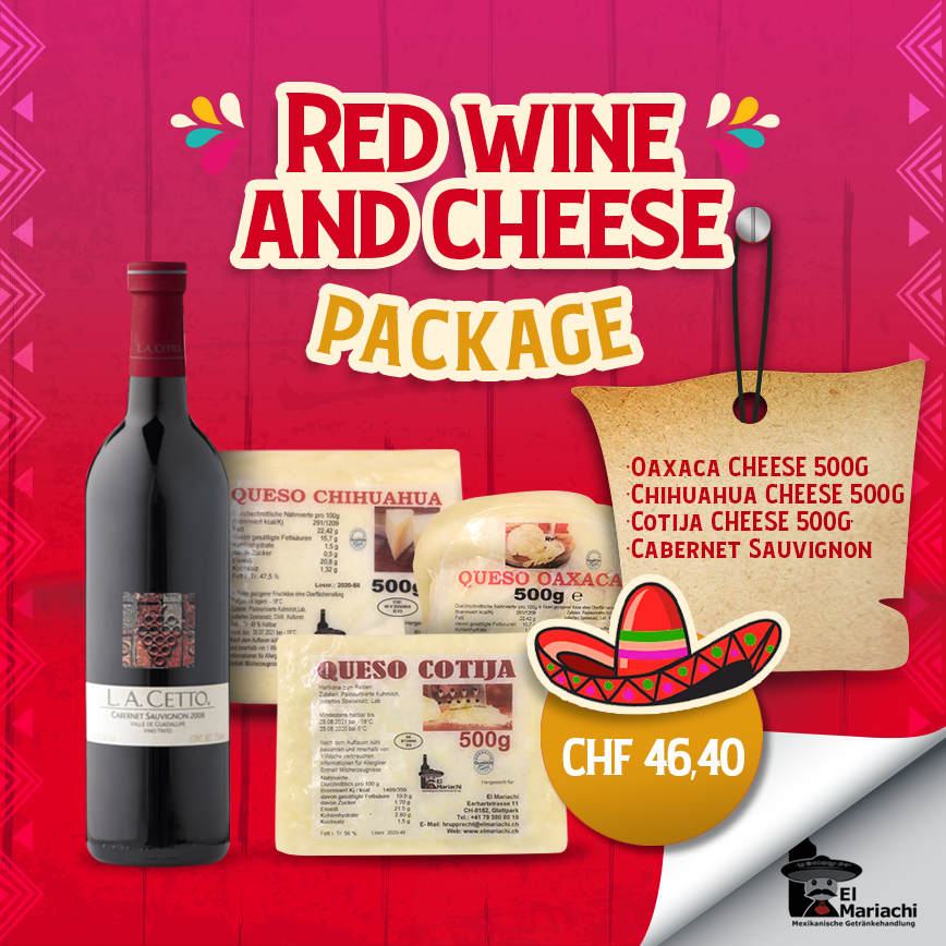 Wine and Cheese Package Cabernet