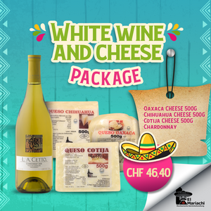 Wine and Cheese Package Chardonnay