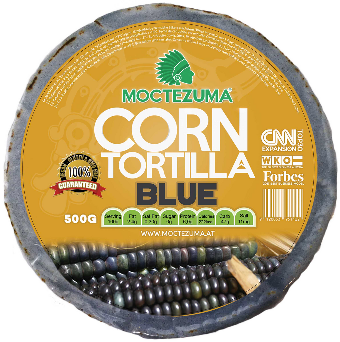 Tortilla Blue 500G