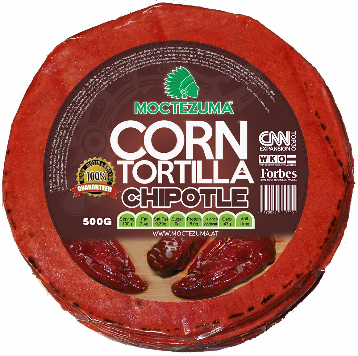 Tortilla Chipotle 500G