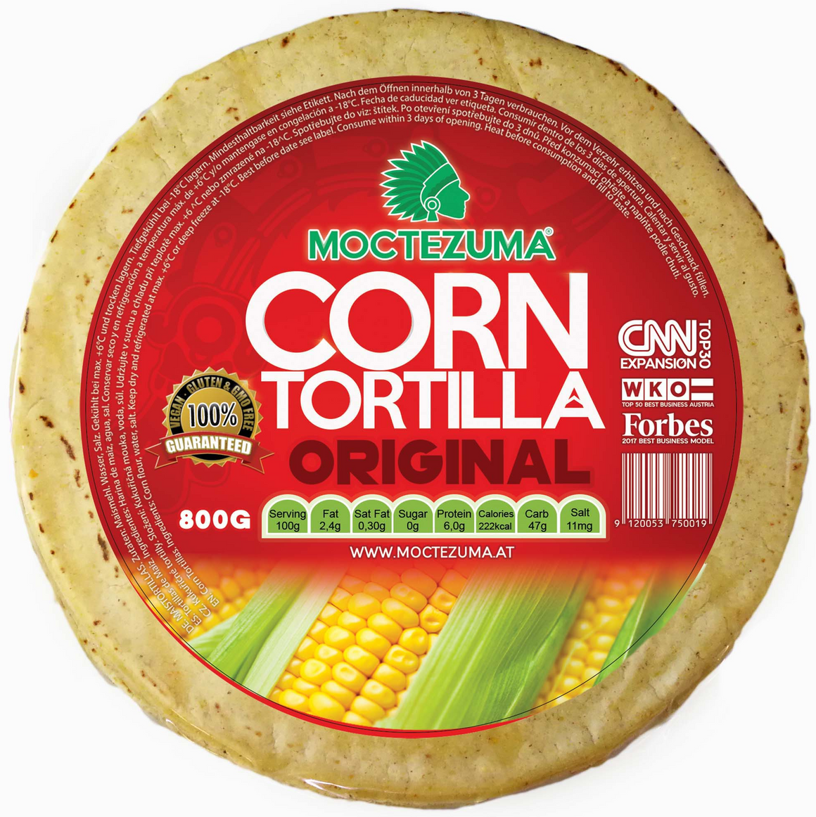 Tortilla Original 800G