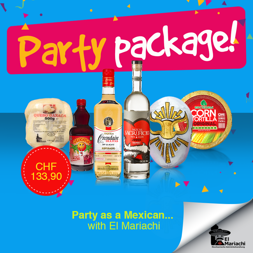Mexican Independence Day Party Package