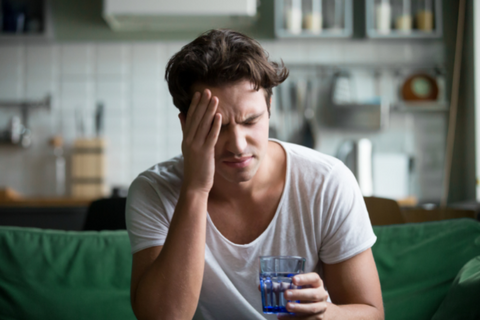 curing hangover symptoms with essential oils