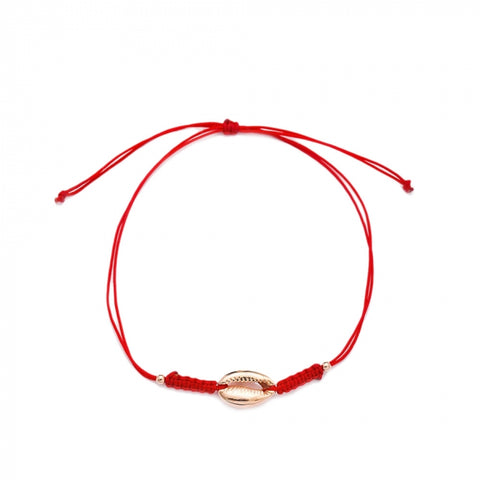 Oceana Single Gold Knit Bracelet